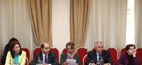 Обсуждение на тему «Предварительная концепция конституционных реформ в Армении»