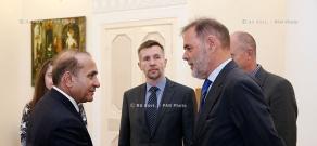 RA Govt.: PM Hovik Abrahamyan receives newly ambassador of Norway to Armenia Leidulv Atle Namtvedt