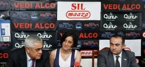 Press conference of Manvel Badeyan and Tevan Poghosyan