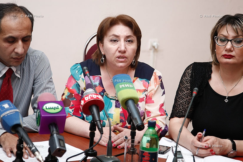 Press conference on cultural festival Armenia is our home