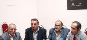 Press conference on cultural festival