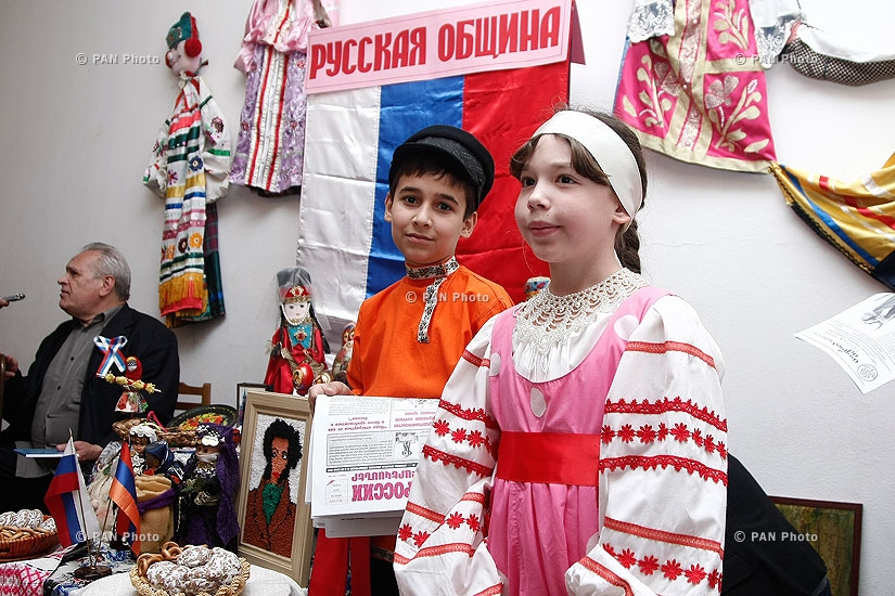 Exhibition of applied arts with the participation of national minorities