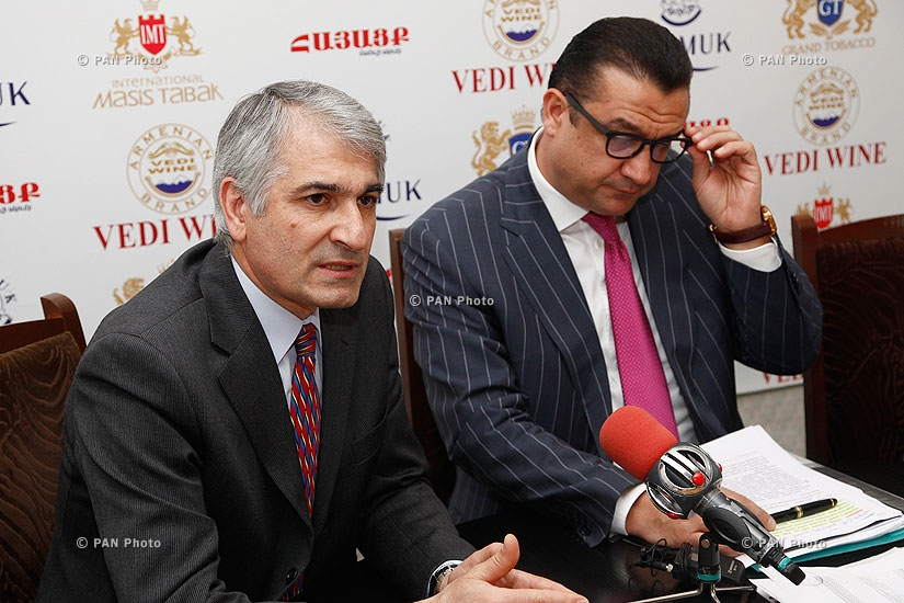 Press conference of Manvel Ter-Arakelyan and Gagik Makaryan