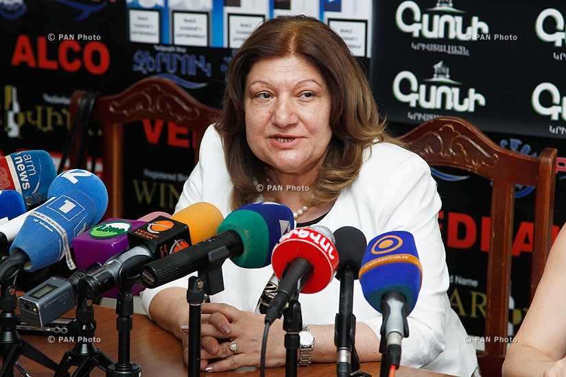 Press conference of Narine Hovhannisyan, Head of General Education department at RA Ministry of Education and Science
