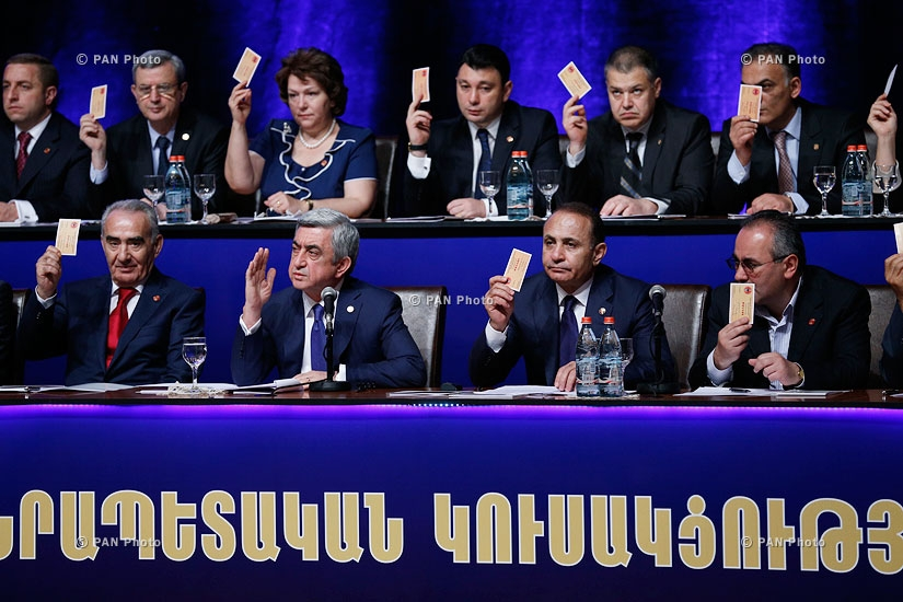 The 15th congress of the ruling Republican Party of Armenia (RPA)