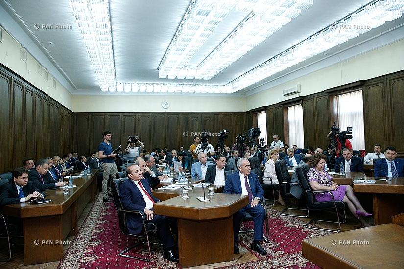 Discussion of 2013 state budget execution at Armenian National Assembly