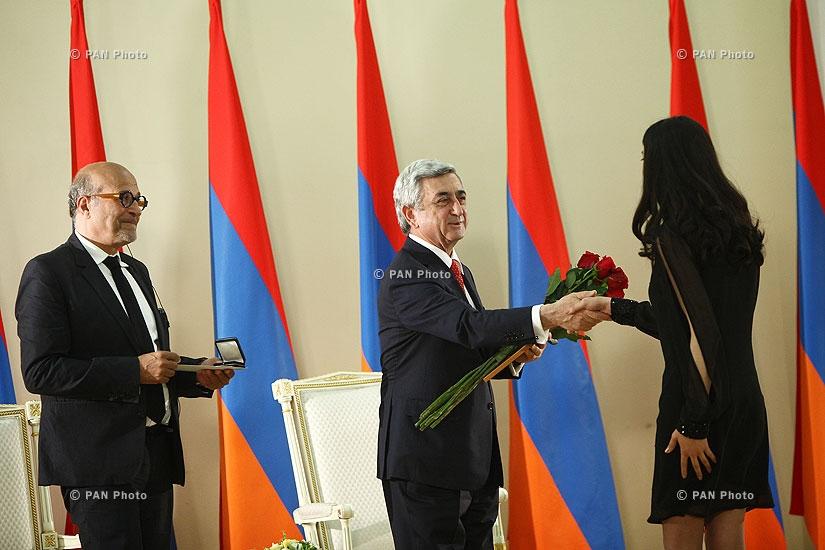 RA Presidential Award Ceremony for 2013