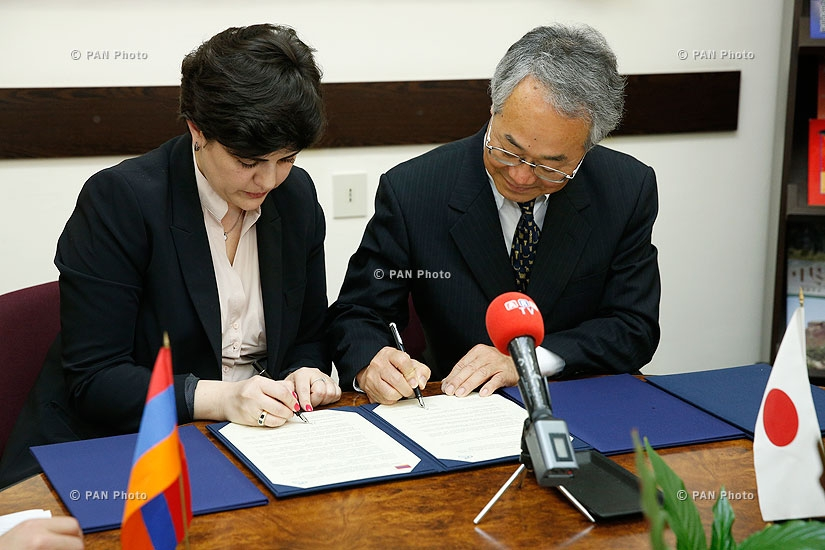 RA Ministry of Culture and Tokyo Research Institute for Cultural Properties sign an agreement