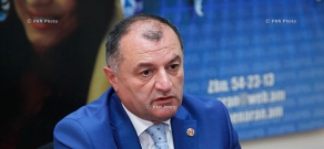 Press conference of Gagik Melikyan, Secretary of RPA faction