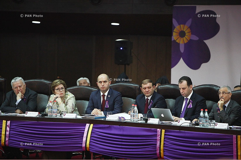 4th session of State Commission on Coordination of events, dedicated to the 100th anniversary of  Armenian Genocide