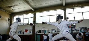 Armenian Fencing Cup tournament kicks off