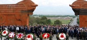 Armenia marks the Day of the First Republic in Sardarapat