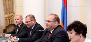 RA Govt.: PM Hovik Abrahamyan receives delegation, led by the Governor of Moravian-Silesian Region of Czech Republic Miroslav Novak
