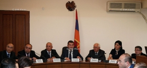 Meeting of the Armenian State Commission on Protection of Economic Competition