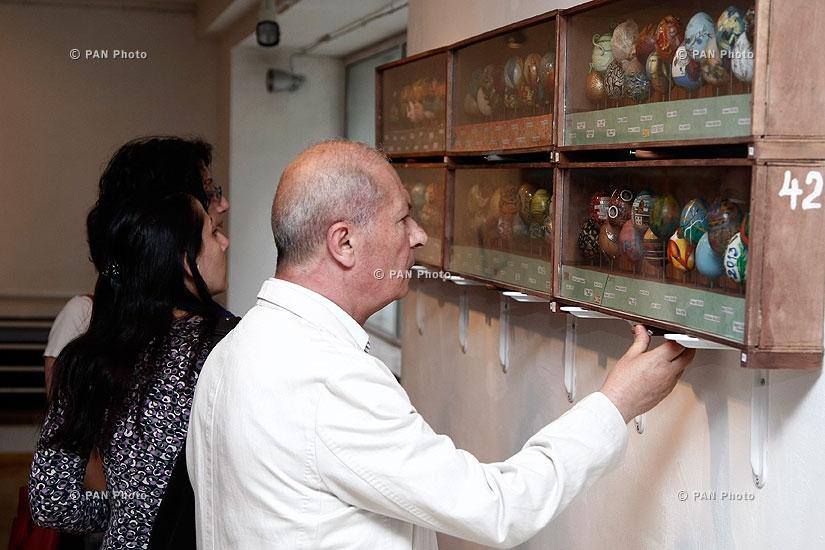 Открытие выставки профессора Ереванской государственной консерватории им. Комитаса Якова Заргаряна