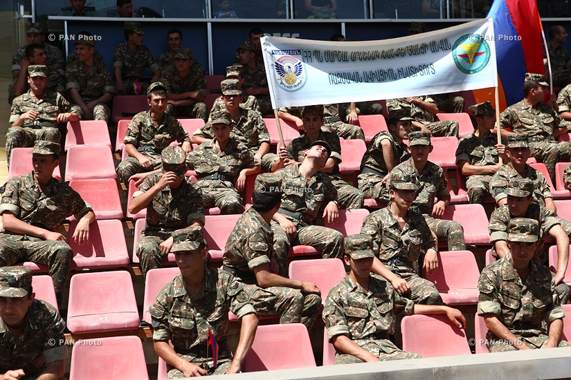 Opening ceremony of Armenian armed forces 16th general sports contest