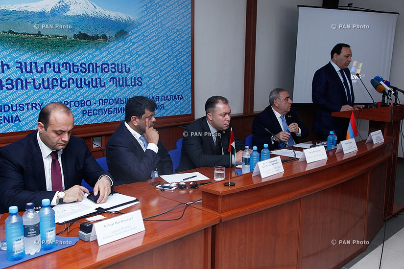 Business forum between Armenia and UAE businessmen