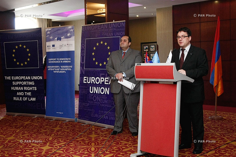 "Launch of EU-funded project ""Support to Democratic Governance in Armenia"