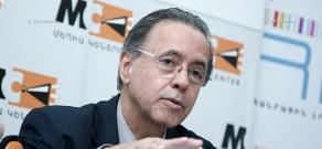 Пресс-конференция посла Бразилии в Армении Эдсона Маринью Дуарте Монтейру