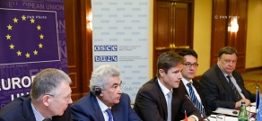 Рабочая встреча Профессиональной комиссии по конституционным реформам