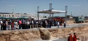 Президент Армении Серж Саркисян принял участие в церемонии закладки новой школы фигурного катания