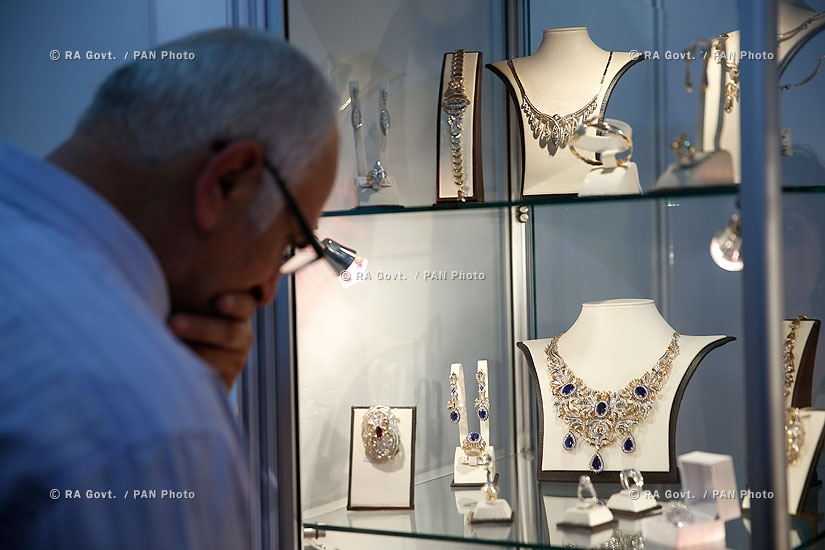 Opening of 11th International  Exhibition and Sale of Jewelry
