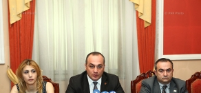 Press Conference of RA NA Delegation in NATO PA