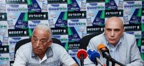 Press conference of Boris Kharatyan and Mikayel Piliposyan