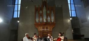 Komitas quartet concert in Komitas Chamber Music Hall