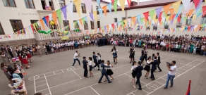 School graduation celebration in Stepanakert