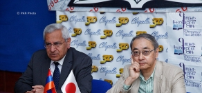 Press conference on Armenian-Japanese relations
