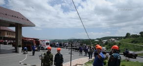 """""""Tsaghkadzor Marriott"""" Hotel had Fire Drill organized together with RA Ministry of Emergency  Situations"""