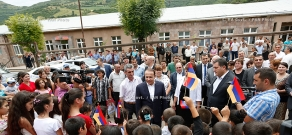 RA Govt.: PM Hovik Abrahamyan visitsTavush Province