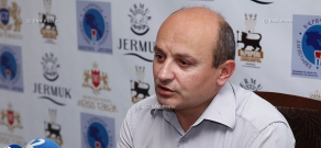 Press conference of Stepan Safaryan