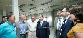 RA Govt.: PM Hovik Abrahamyan visits Meridian jewelry free economic zone