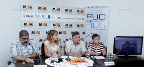 Press conference of Kiro Manoyan, Ara Papyan, Lilit Gasparyan and Aris Naldzhin