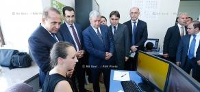 RA Govt.: Prime Minister Hovik Abrahamyan visits Gyumri Technology Center