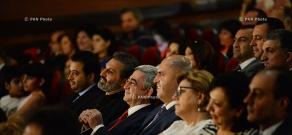 President Serzh Sargsyan attends
