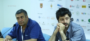 Press conference of directors Mano Khalil and Giovanni Donfrancesco. 11th Golden Apricot Film Festival