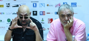 Press conference of Jean-Pierre Nshanian and Suren Babayan: 11th Golden Apricot Film Festival