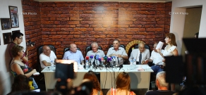Press conference in support of Levon Hayrapetyan