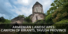 Armenian landscapes: Canyon of Kirants, Tavush Province