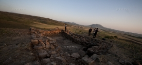 Urartian fortress dated 9th-7th century BC uncovered in Kotayk province of Armenia