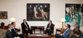 Armenian Foreign minister Edward Nalbandyan receives EU Special Representative Herbert Salber