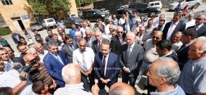 RA Govt.: PM Hovik Abrahamyan vists border communities of Vayots Dzor Province