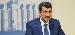 Press conference of Yerevan Deputy Mayor Aram Sukiasyan