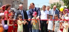 Yerevan Mayor Taron Margaryan vists Administrative district Avan