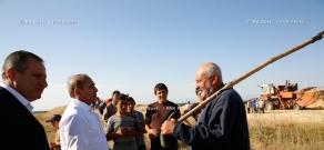 RA Govt.: PM Hovik Abrahamyan visits communities in Gegharkunik Province