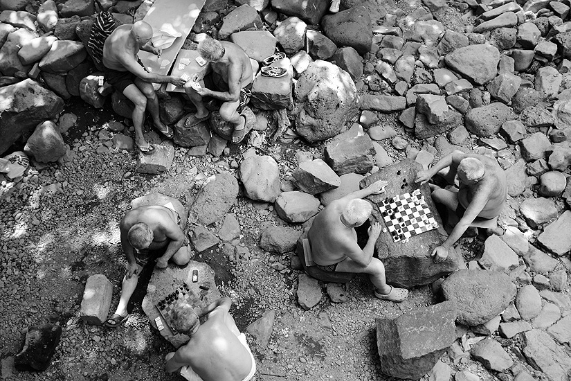 Bidzeki gyol: Traditional pastime at Hrazdan Gorge