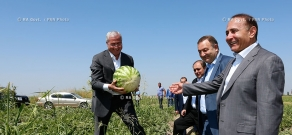 RA Govt.: PM Hovik Abrahamyan pays working visit to Armavir Province